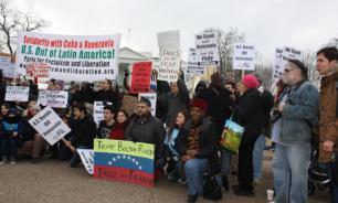 В США протестуют против интервенции в Венесуэле