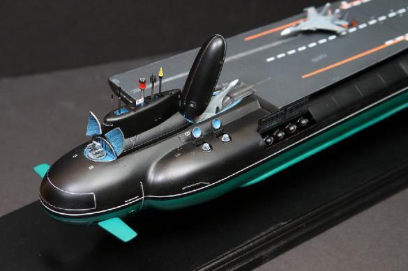 Авианосец будущего будет плавать. И это будет подводная лодка