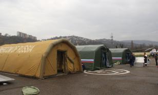 Мобильный госпиталь МЧС России развернут в Бейруте