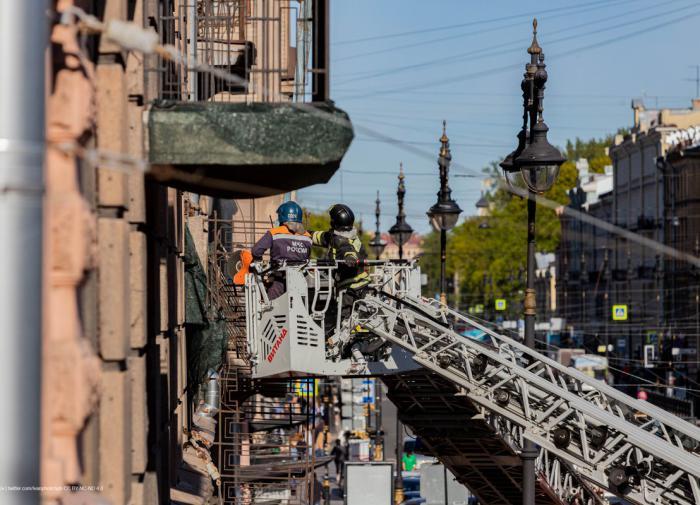 В центре Петербурга могут законсервировать аварийные дома