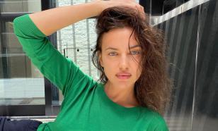 Ирина Шейк упала на подиуме во время дефиле в нижнем белье