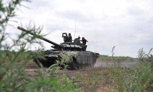 Тактические учения военных проходят в горах Кавказа
