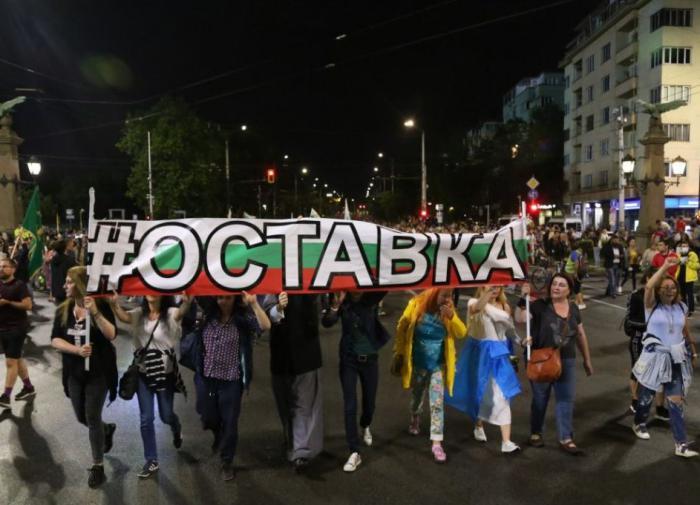 В болгарских протестах тоже нашли русский след