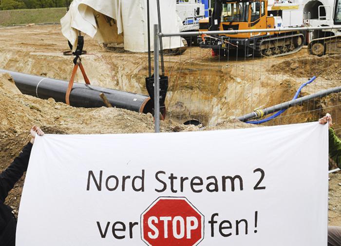 Немецкие экологи объяснили причину иска против Северного потока-2