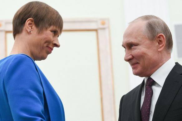 """Кальюлайд о встрече с Путиным: """"Я не хочу быть в меню, я хочу быть за столом"""""""
