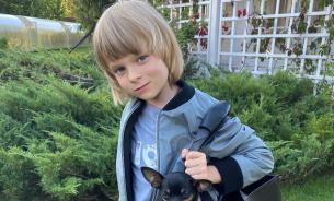 Рудковская заставляет шестилетнего сына быть звездой Instagram