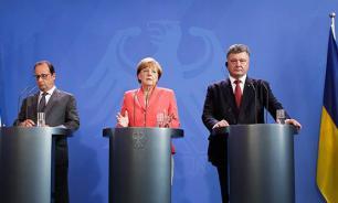 Порошенко уехал из Берлина с лапшой на ушах