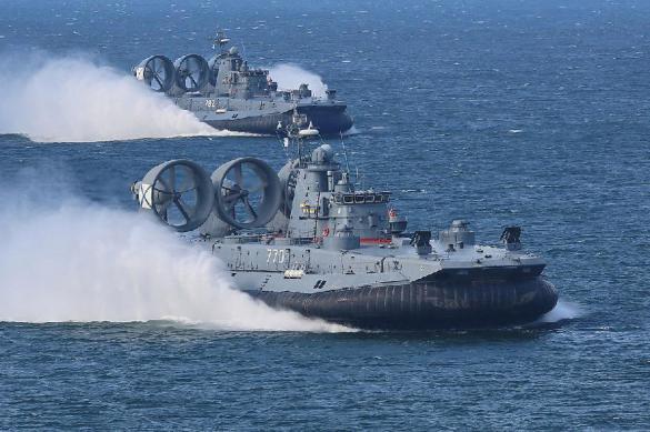 ВМС США испытывают судно на воздушной подушке нового поколения