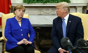 Эксперт рассказал, о чем Меркель могла спорить с Трампом
