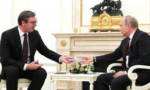 Вучич пригласил Путина в Сербию и поздравил с Рождеством