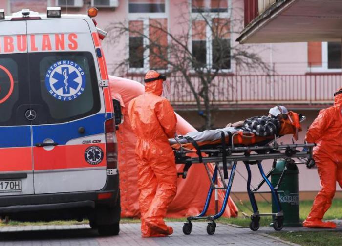 В Польше растёт число заболевших коронавирусом