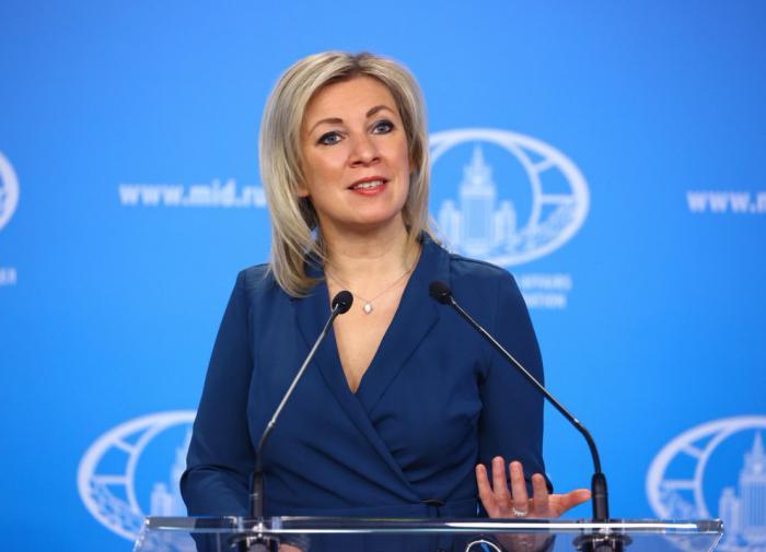 Мария Захарова прокомментировала отречение Васильевой от ФБК*
