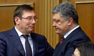 Советник Трампа рассказал о хищениях Порошенко и Луценко