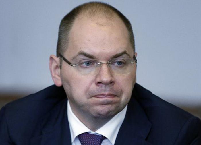 Глава Минздрава Украины отказывается уходить в отставку