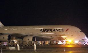 Лайнер Air France экстренно сел в Кении из-за угрозы теракта