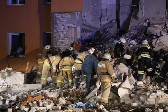 Разбор завалов на месте взрыва дома в Белгороде завершен