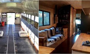 Автобус для заключенных превратили в дом на колесах