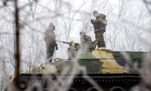 В Донбассе украинские силовики установили противотанковые мины