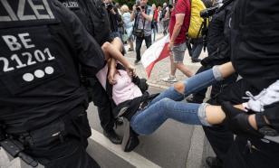 Погром в Берлине: полиция жёстко разгоняет COVID-диссидентов