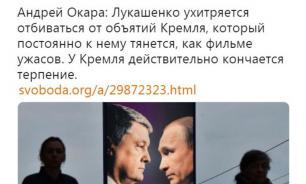 """""""Радио Свобода"""" перепутало фотографии Лукашенко и Порошенко"""