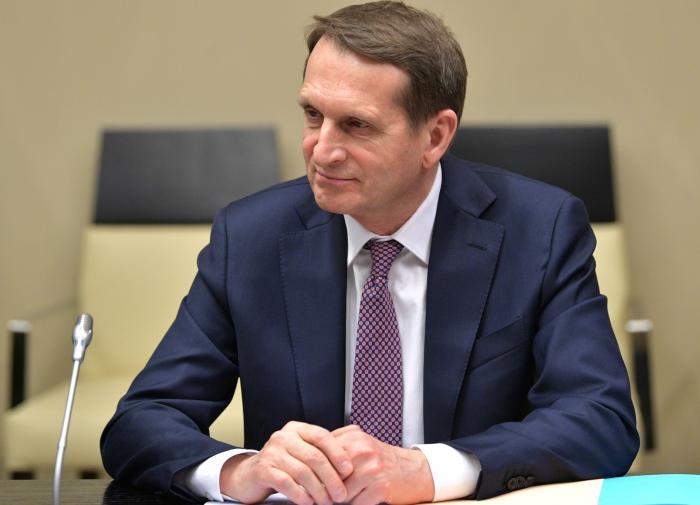"""Нарышкин назвал """"очередной ложью"""" обвинение Лондона по делу Скрипалей"""