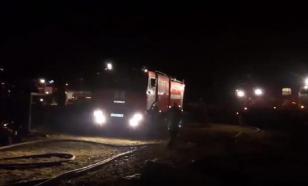 Страшный пожар под Свердловском с пятью погибшими попал на видео
