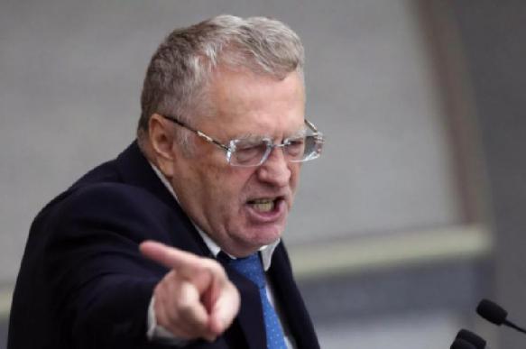 Жириновский сорвал овации, отказавшись голосовать за собственный закон