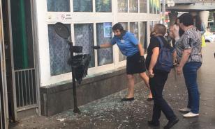 Во время взрыва у метро в Киеве пострадали четыре человека
