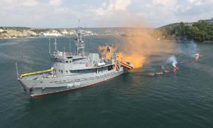 Начались  совместные морские учения Ирана, России и Китая