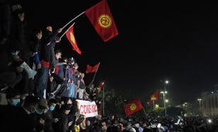 Протестующие в Бишкеке штурмом взяли здание парламента страны