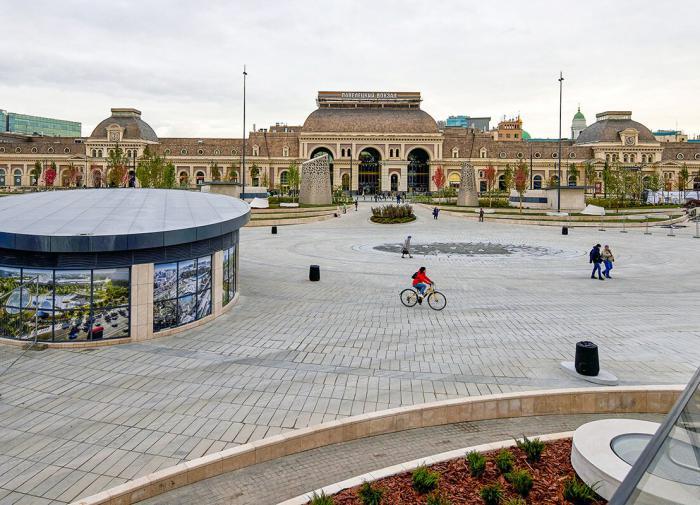 У Павелецкого вокзала презентовали первый этап масштабной реконструкции площади