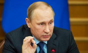 """Путин заявил, что Россию """"не нужно придумывать"""""""