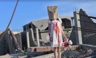 """""""Окровавленная девочка"""" попалась на постановочных кадрах из Алеппо"""