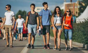 Социологи: молодежь стремится в Москву и Санкт-Петербург