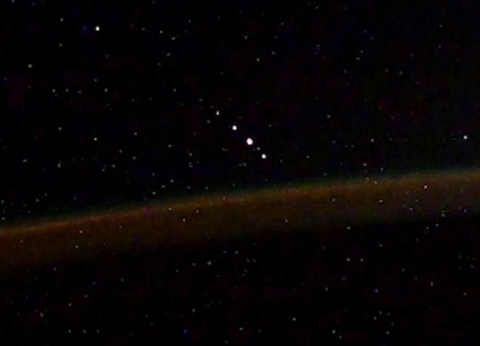 Российский космонавт рассказал об объектах внеземного происхождения