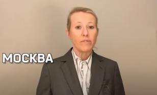 """""""Серая мышь"""": Собчак провела свою программу без косметики"""