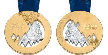 Медали сочинской Олимпиады прошли проверку на прочность