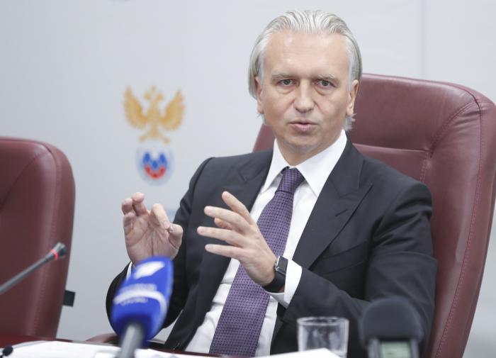 РФС продлил срок полномочий президента Дюкова