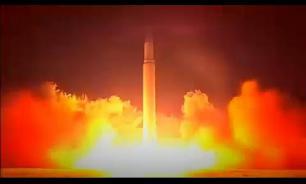 Пуск межконтинентальной баллистической ракеты РС-12М «Тополь»
