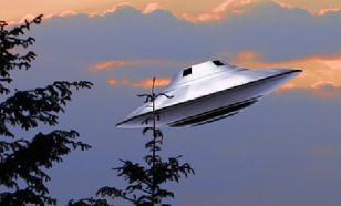 Над Ладожским озером сняли на видео НЛО