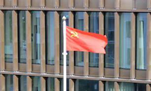 Над зданием муниципалитета в Швеции подняли флаг СССР