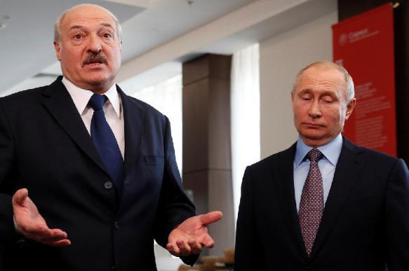 Предзнаменование: на встрече Путина и Лукашенко погас свет