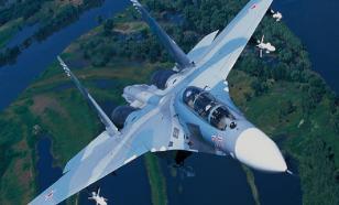 В Черном море идут поиски самолета Су-27, пропавшего с радаров