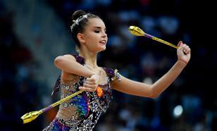 Дина Аверина лидирует на онлайн-турнире по художественной гимнастике