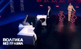 Депутата Рады избили в прямом эфире ток-шоу