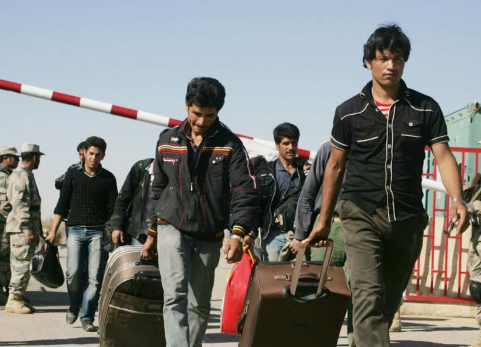 Афганские мигранты, депортируемые из стран ЕС, не смогут вернуться домой