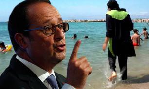 Президент Франции назвал неконституционной борьбу с буркини