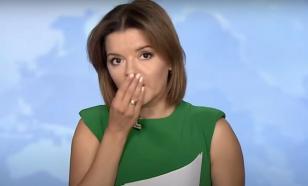У украинской телеведущей выпал передний зуб в прямом эфире