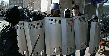 """МВД Украины: """"началась антитеррористическая операция"""""""
