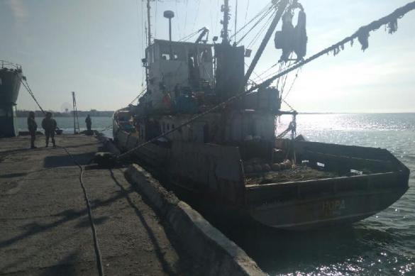 Россия предложила Украине обмен моряками